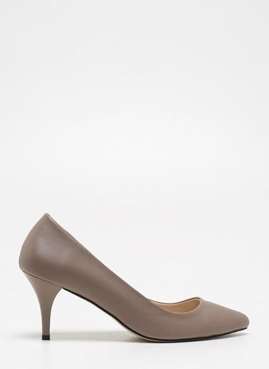 F By Fabrika Kadın Gri Ayakkabı CORTEZ Vizon